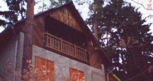 Rekreační chata na Hracholuské přehradě