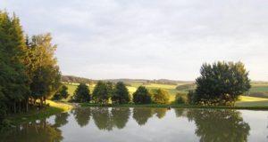 Rybník a chata Hubertka