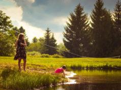 Rybaření s rodinou