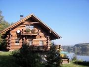 Chata u vody – Hněvkovická přehrada